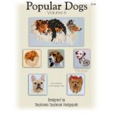 Pegasus Designs Stickvorlage Popular Dogs Volume 6