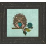 Just Another Button Company Stickvorlage Woodland Hedgehog