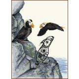 Tufted Puffin - Stickvorlage The Stitching Studio
