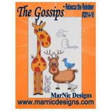 MarNic Designs Stickvorlage The Gossips