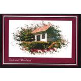 Ronnie Rowe Designs Stickvorlage Colonial Series Colonial Woodshed