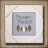 Kreuzstichvorlage Country Cottage Needleworks - Frosty Forest Frosty Forest