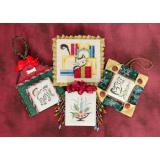 Brittercup Designs Stickvorlage Christmas Ornaments