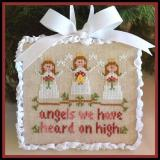 Country Cottage Needleworks Stickvorlage Classic Collection Angels