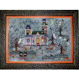 Praiseworthy Stitches Stickvorlage Darkwing Manor