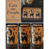 Kreuzstichvorlage Blackbird Designs - Cats On Parade