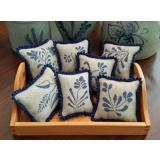 Priscillas Pocket Stickvorlage Stoneware Pinpillows