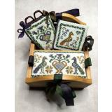 Thistle Patch Sewing Box - Stickvorlage Miladys Needle