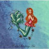 Cross Stitching Art Stickvorlage Aurelia The Little Mermaid