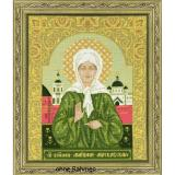 Riolis Stickpackung 1385 Ikone St. Blessed Matrona of Moscow