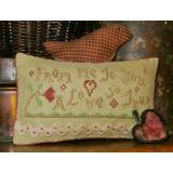 Homespun Elegance Ltd Stickvorlage A Love So True