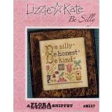 Lizzie Kate Stickvorlage Be Silly Flora McSample