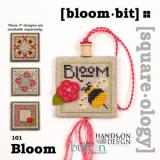 Just Another Button Company Stickvorlage Bloom Bit