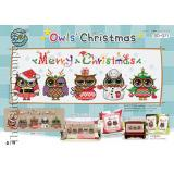 Owls Christmas (Eulen) - Stickpackung Soda Stitch