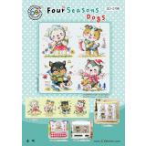Four Season Dogs (Hunde) - Stickpackung Soda Stitch