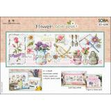 Flower Garden (Gartensampler) - Stickpackung Soda Stitch