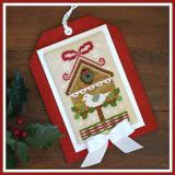 Classic Collection Christmas Birdhouse - Stickvorlage Country Cottage Needleworks