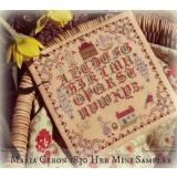 Maria Ceron-1830 Her Mini Sampler - Stickvorlage Lindsay Lane Designs