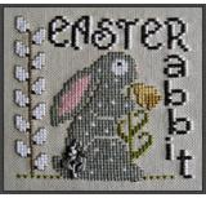 Easter Rabbit (w/chm) - Stickvorlage Hinzeit