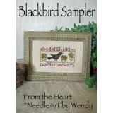 From the Heart Stickvorlage Blackbird Sampler