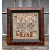 Quaker Quilts -  Stickvorlage Carriage House Samplings