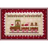 Country Cottage Needleworks Stickvorlage Gingerbread Village Gingerbread Train