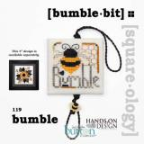 Just Another Button Company Stickvorlage Bumble Bit