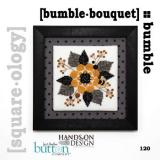 Just Another Button Company Stickvorlage Bumble Bouquet
