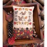 Lilas Studio Stickvorlage Gathering Acorns