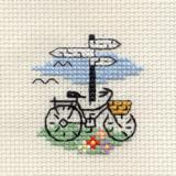 Bicycle and Signpost - Stickpackung Mouseloft