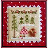 Country Cottage Needleworks Stickvorlage Gingerbread Village Gingerbread Girl And Peppermint Tree