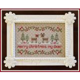 Country Cottage Needleworks Stickvorlage Merry Christmas My Deer