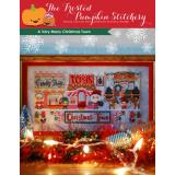 Frosted Pumpkin Stitchery Stickvorlage Very Merry Christmas Town