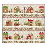 Country Cottage Needleworks 12 Stickvorlagen Serie Santas Village