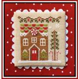 Country Cottage Needleworks Stickvorlage Gingerbread Village Gingerbread House 1