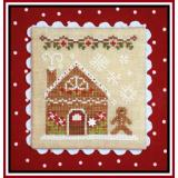 Country Cottage Needleworks Stickvorlage Gingerbread Village Gingerbread House 2