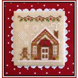 Country Cottage Needleworks Stickvorlage Gingerbread Village Gingerbread House 3