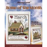 Home Of The Month - March - Stickvorlage Stoney Creek