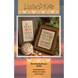 Lizzie Kate Stickvorlage Be Bold & Brave