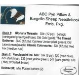 Embellishment Pack ABC Pyn Roll & Bargello Sheep Needlekeep