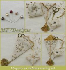 Elegance In Autumn Sewing Set - Stickvorlage MTV Designs