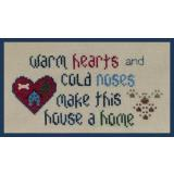 Warm Hearts - Cold Noses - Stickvorlage The Stitchworks