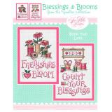 Sue Hillis Stickvorlage Blessings & Blooms