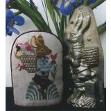 Spring Chocolate Rabbit - Stickvorlage The Workbasket
