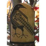 Quaker Crow - Stickvorlage The Workbasket