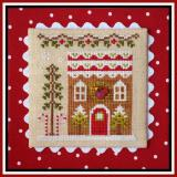 Country Cottage Needleworks Stickvorlage Gingerbread Village Gingerbread House 4