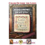 Color Outside The Lines - Kreuzstichvorlage Needle Work Press