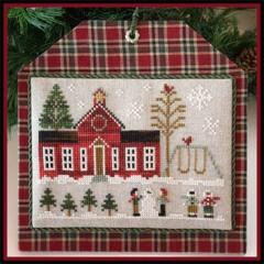 Little House Needleworks Stickvorlage Hometown Holiday Schoolhouse