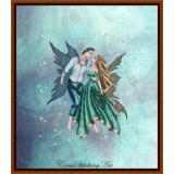 Kreuzstichvorlage Cross Stitching Art - Dancing In The Stars