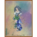 The Dance Of Esmeralda - Stickvorlage Cross Stitching Art